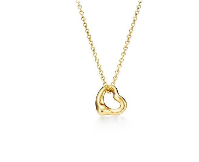"""<p><a class=""""link rapid-noclick-resp"""" href=""""https://www.tiffany.co.uk/jewelry/necklaces-pendants/elsa-peretti-open-heart-pendant-GRP06560/"""" rel=""""nofollow noopener"""" target=""""_blank"""" data-ylk=""""slk:SHOP NOW"""">SHOP NOW</a></p><p>The innovative Italian designer Elsa Peretti joined Tiffany & Co. in 1974, but the jewellery she created for the house is so masterfully modern, it still appears relevant and stylish almost half a century later. </p><p>Peretti's fluid and sculptural pieces (such as the Bone Cuff, Bean pendant and the articulated Scorpion necklace) appealed to a rising wave of bold and powerful women like herself, including Catherine Deneuve, Sophia Loren and Liza Minelli, who adored them for being """"so sensual, so sexy"""". </p><p>One of the most instantly recognisable and best-loved of Peretti's designs is the Open Heart pendant: a sleek, streamlined heart with an open centre, inspired the 'empty spaces' of Henry Moore sculptures. It's a fascinating conversation starter and an iconic piece of design history in its own right, whether worn on its own or layered up with other <a href=""""https://www.harpersbazaar.com/uk/fashion/jewellery-watches/g33529841/gold-jewellery/"""" rel=""""nofollow noopener"""" target=""""_blank"""" data-ylk=""""slk:gold jewellery"""" class=""""link rapid-noclick-resp"""">gold jewellery</a>. </p><p>Gold Open Heart pendant, £460, Elsa Peretti for <a href=""""https://www.tiffany.co.uk/"""" rel=""""nofollow noopener"""" target=""""_blank"""" data-ylk=""""slk:Tiffany & Co."""" class=""""link rapid-noclick-resp"""">Tiffany & Co.</a> </p>"""