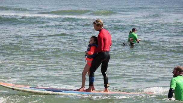 PHOTO: Surfers Healing is a nonprofit organization providing free surf therapy for kids with autism. (ABC News)