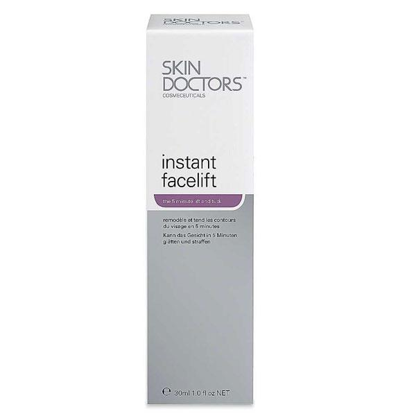 "<a target=""_blank"" href=""http://www.skindoctors.co.uk/products/instant-facelift%E2%84%A2-30ml""><b>Instant Facelift - £30.60 – Skin Doctors</b></a><br><br>Give your skin a 5 minute nip and tuck with this treatment that's said to tone, tighten and contour."