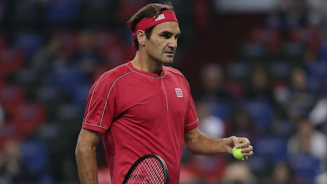 Four years on from his defeat to the same opponent at the same stage, Roger Federer eased past Albert Ramos Vinolas at the Shanghai Masters.
