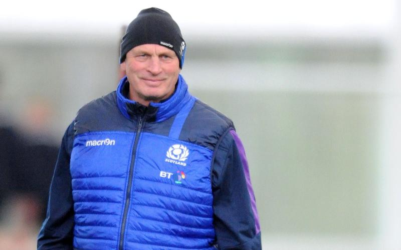 Vern Cotter will oversee his final Scotland game on Saturday - Copyright (c) 2017 Rex Features. No use without permission.