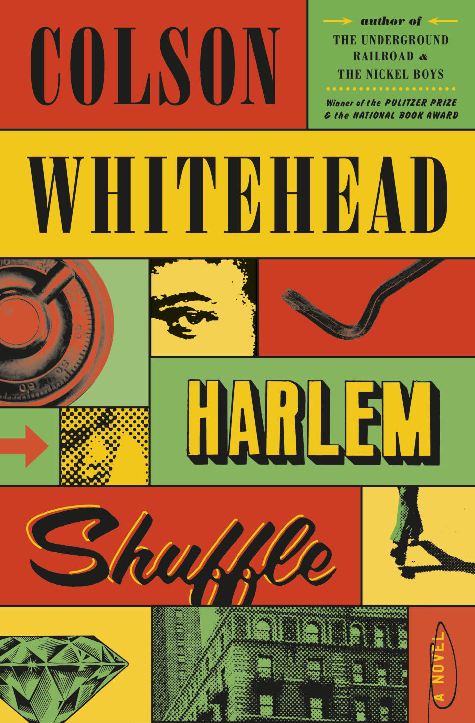 """This cover image released by Doubleday shows """"Harlem Shuffle"""" by Colson Whitehead, releasing Sept. 14. (Doubleday via AP)"""