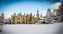 """<p>At spectacular <a href=""""https://www.booking.com/hotel/gb/pale-hall.en-gb.html?aid=2070929&label=christmas-hotels"""" rel=""""nofollow noopener"""" target=""""_blank"""" data-ylk=""""slk:Pale Hall"""" class=""""link rapid-noclick-resp"""">Pale Hall</a> in Wales, Christmas is all about spending nights in luxurious rooms and by crackling open fires. There's a wonderful woodland garden to explore and fine dining to enjoy as you soak up the festive atmosphere. The scent of pine and spices in the air, beautiful trees and garlands aplenty set the scene for your Christmas break. Mince pies and mulled wine are served, Christmas carols are sung around the piano with a glass of fizz and Christmas lunch comes with the traditional trimmings and matching wines.</p><p><a class=""""link rapid-noclick-resp"""" href=""""https://www.booking.com/hotel/gb/pale-hall.en-gb.html?aid=2070929&label=christmas-hotels"""" rel=""""nofollow noopener"""" target=""""_blank"""" data-ylk=""""slk:CHECK AVAILABILITY"""">CHECK AVAILABILITY</a></p>"""