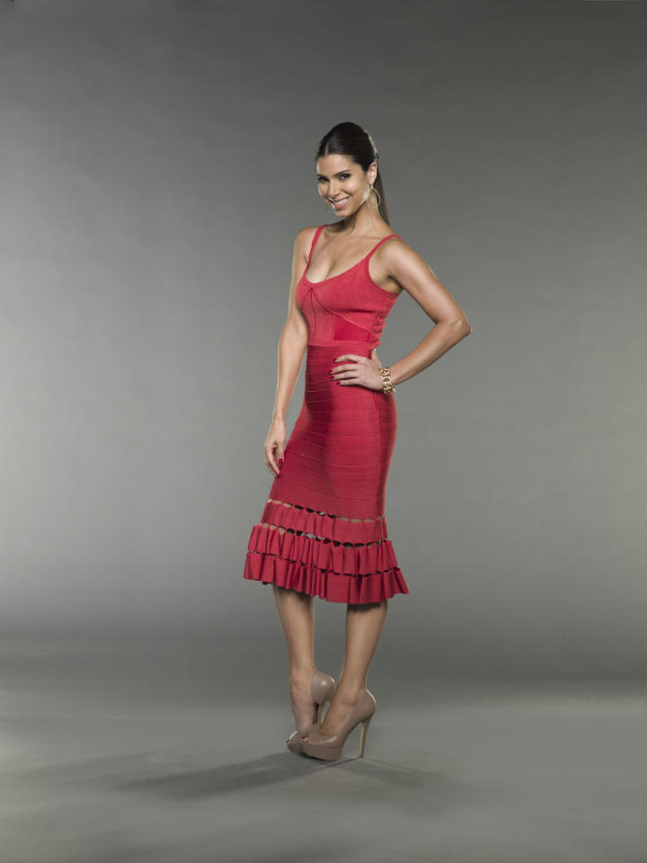 "Roselyn Sanchez in the Lifetime series ""Devious Maids."""