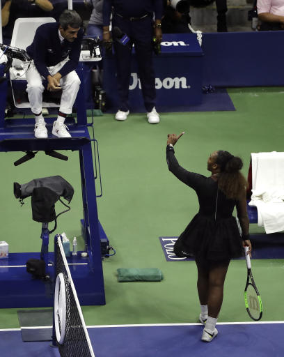 Cartoon depicting Serena Williams at US Open causes new round of outrage