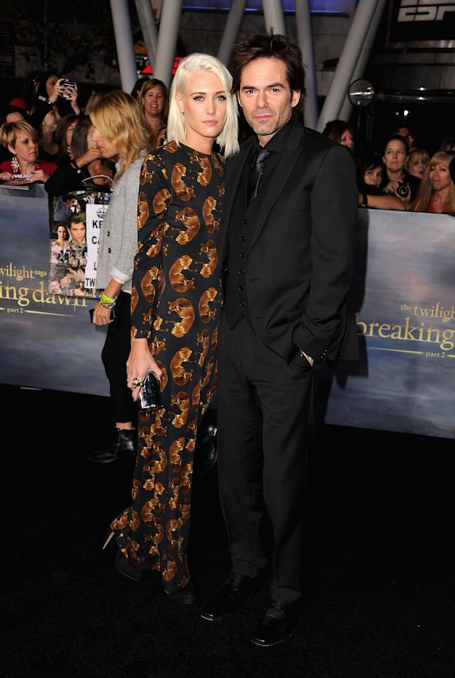 "Pollyanna Rose and Billy Burke arrive at ""The Twilight Saga: Breaking Dawn - Part 2"" Los Angeles premiere at Nokia Theatre L.A. Live on November 12, 2012 in Los Angeles, California.  (Photo by Steve Granitz/WireImage)"