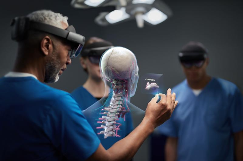 Microsoft Hololens 2 a taste of what is possible with the internet brain connection