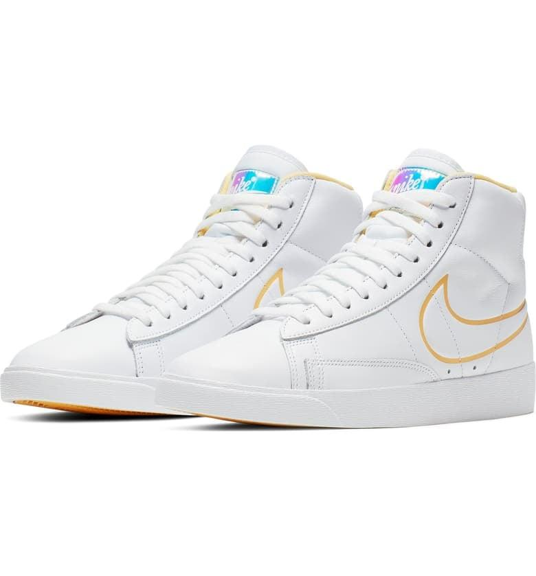 """<p><a href=""""https://www.popsugar.com/buy/Nike%20Blazer%20Mid%20Sneakers-469812?p_name=Nike%20Blazer%20Mid%20Sneakers&retailer=shop.nordstrom.com&price=90&evar1=fab%3Auk&evar9=44311634&evar98=https%3A%2F%2Fwww.popsugar.com%2Ffashion%2Fphoto-gallery%2F44311634%2Fimage%2F44313892%2FNike-Blazer-Mid-Sneakers&list1=shopping%2Cfall%20fashion%2Cshoes%2Csneakers%2Cnike%2Cfall%2Choliday%2Cgift%20guide%2Cbarneys%20new%20york%2Cfashion%20gifts%2Cgifts%20for%20women%2Cshop%20picks&prop13=api&pdata=1"""" rel=""""nofollow"""" data-shoppable-link=""""1"""" target=""""_blank"""" rel=""""nofollow"""" class=""""ga-track"""" data-ga-category=""""Related"""" data-ga-label=""""https://shop.nordstrom.com/s/nike-blazer-mid-sneaker-women/5124237"""" data-ga-action=""""In-Line Links"""">Nike Blazer Mid Sneakers</a> ($90)</p> <p>""""I'm forever a sneaker girl, and a high-top pair is equivalent to an ankle boot for me in the Winter to stay warm. I wear these with everything from jeans to sweats to skirts and tights."""" - Krista Jones, assistant editor, Shop</p>"""