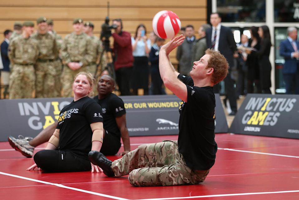 """<h1 class=""""title"""">Prince Harry Launches The Invictus Games</h1><cite class=""""credit"""">Chris Jackson/Getty Images</cite>"""