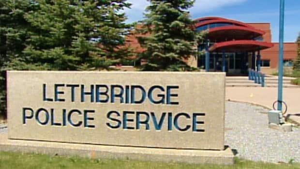 Lethbridge police say the incident happened in the 1200 block of Mayor Magrath Drive South at about 10 a.m. Monday. ( - image credit)