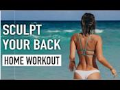 """<p>Home workouts your jam? Make sure to work your back too with this minimal equipment workout. </p><p><strong>Equipment: </strong>Light hand weights</p><p><strong>How long? </strong>10 minutes<strong><br></strong></p><p><a href=""""https://www.youtube.com/watch?v=3m5CLMjkTbY&ab_channel=VickyJustiz"""" rel=""""nofollow noopener"""" target=""""_blank"""" data-ylk=""""slk:See the original post on Youtube"""" class=""""link rapid-noclick-resp"""">See the original post on Youtube</a></p>"""