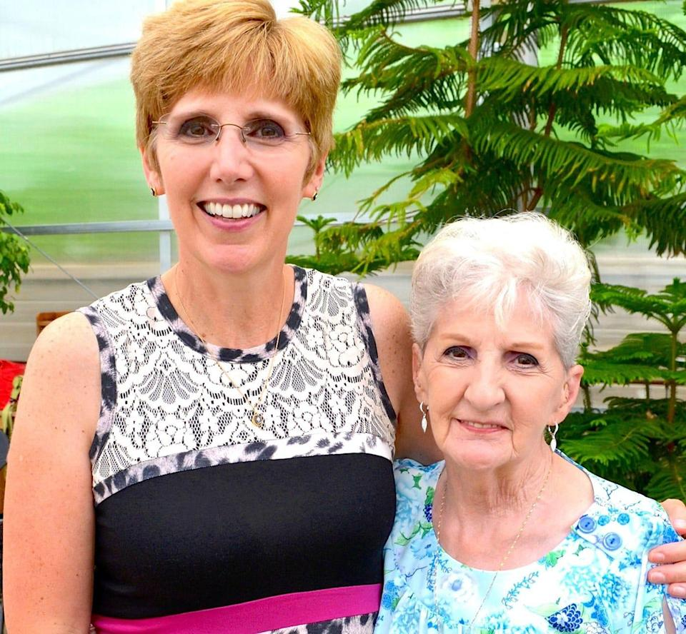 Holly Susi. with her mother,  Janet Gingras. Gingras, died Sunday after contracting COVID-19, all Susi wanted was to gather her family for a proper send-off, but was not allowed.