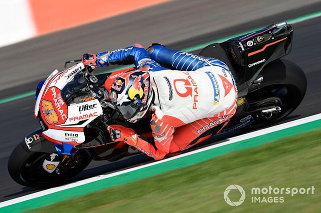 "Jack Miller, Pramac Racing <span class=""copyright"">Gold and Goose / LAT Images</span>"