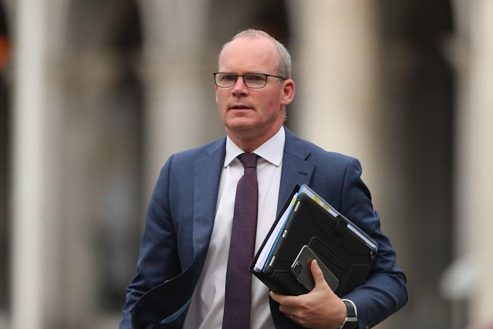 Simon Coveney has questioned the UK's intentions with the EU (PA) (PA Wire)
