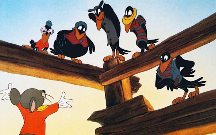 Dumbo's problematic crows - Alamy