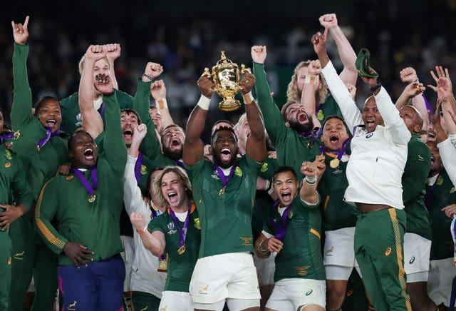 South Africa are the world champions