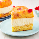 """<p>We are suckers for a good <a href=""""https://www.delish.com/uk/cooking/recipes/a32312209/easy-pineapple-upside-down-cake-recipe/"""" rel=""""nofollow noopener"""" target=""""_blank"""" data-ylk=""""slk:Pineapple Upside-Down Cake"""" class=""""link rapid-noclick-resp"""">Pineapple Upside-Down Cake</a> and this just might be our favourite version yet. The creamy cheesecake layer makes the cake perfectly decadent and the two just simply belong together. </p><p>Get the <a href=""""https://www.delish.com/uk/cooking/recipes/a34902347/pineapple-upside-down-cheesecake-recipe/"""" rel=""""nofollow noopener"""" target=""""_blank"""" data-ylk=""""slk:Pineapple Upside-Down Cheesecake"""" class=""""link rapid-noclick-resp"""">Pineapple Upside-Down Cheesecake</a> recipe.</p>"""