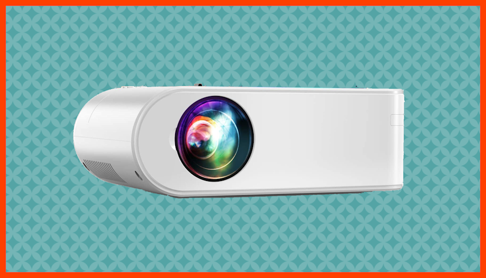 Save nearly 70 percent on the Yaber V2 Portable Projector. (Photo: Amazon)