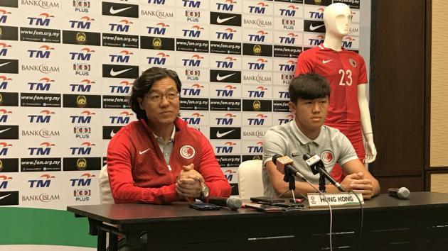 Hong Kong confident of besting Malaysia in Asian Cup qualifier
