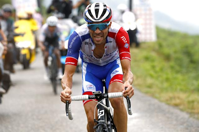 With team coach and older brother Julien Pinot's help, Groupama-FDJ's Thibaut Pinot rode strongly at the 2019 Tour de France, but was forced out of the race with an untimely thigh injury while in fifth place overall