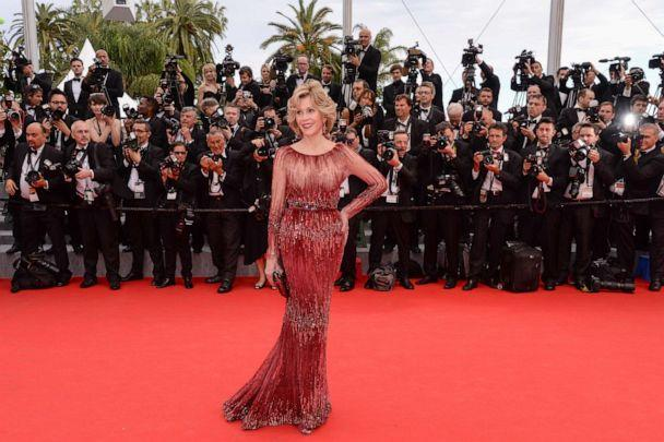 PHOTO: Jane Fonda attends the Opening Ceremony and the 'Grace of Monaco' premiere during the 67th Cannes Film Festival in Cannes, France, May 14, 2014. (Corbis via Getty Images, FILE)