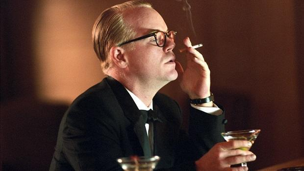<p> The late Philip Seymour Hoffman gives an Oscar-winning performance as Truman Capote, an author who formed a deadly alliance with a murderer on death row. Having starred in many supporting roles up until this point, Hoffman was finally given the limelight and took home a long overdue Oscar for his efforts. In 2006 Toby Jones also played Capote in another movie biopic, but the film was overshadowed by its predecessor. </p>