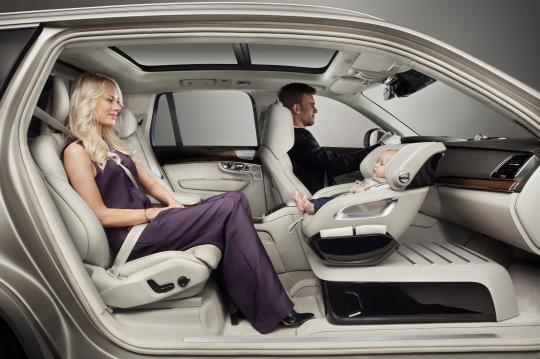 when most of us imagine what future luxury cars might look like we might picture ultra comfy seats or watching movies during boring stretches of road