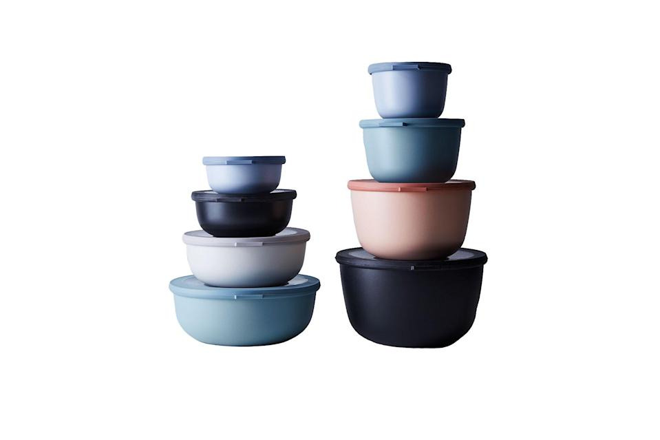 "$60, Food52. <a href=""https://food52.com/shop/products/3855-microwavable-nested-storage-bowls"" rel=""nofollow noopener"" target=""_blank"" data-ylk=""slk:Get it now!"" class=""link rapid-noclick-resp"">Get it now!</a>"