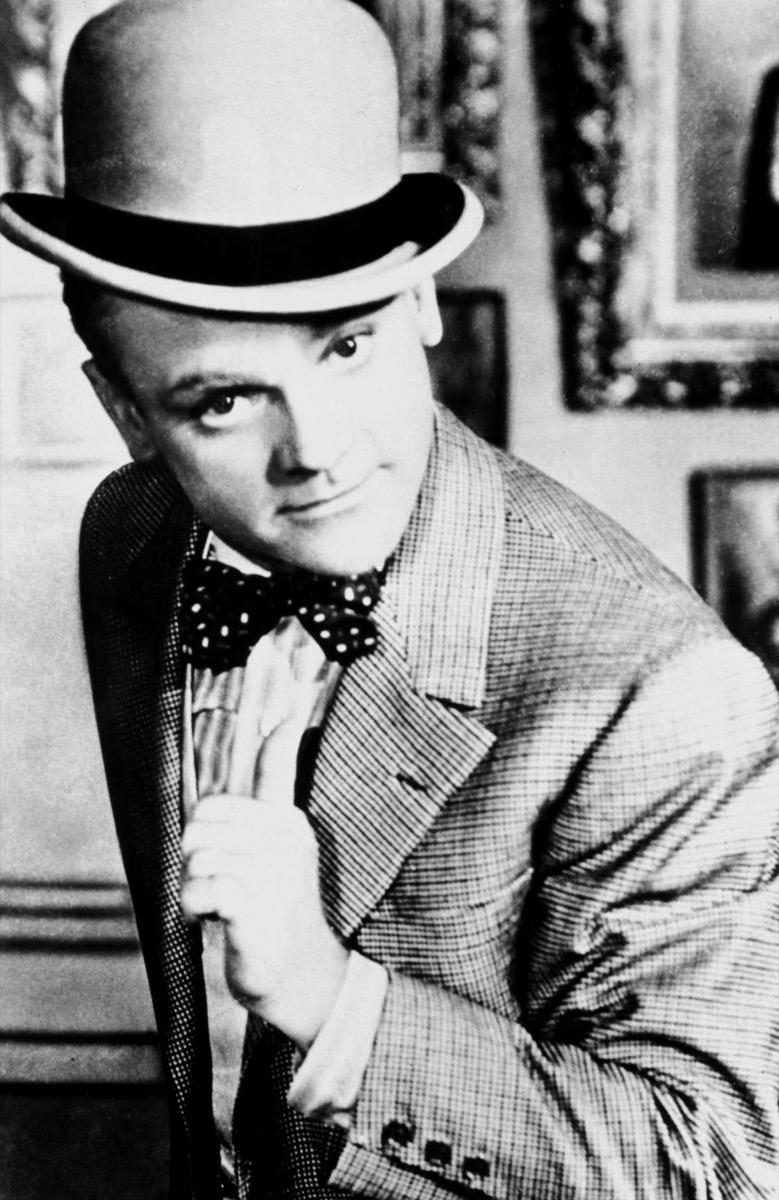 RY489A JAMES CAGNEY, YANKEE DOODLE DANDY, 1942, biggest male icon
