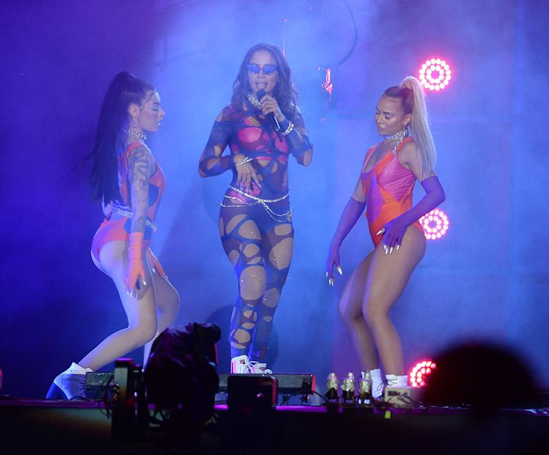 Anitta no Rock in Rio. Foto: Francisco Cepeda/AgNews