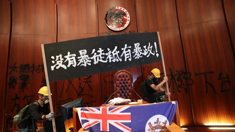Hong Kong protesters 'went to Taiwan in June' to explore options for asylum