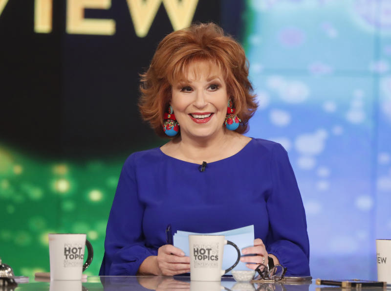 Joy Behar reveals her own blackface photo on 'The View'