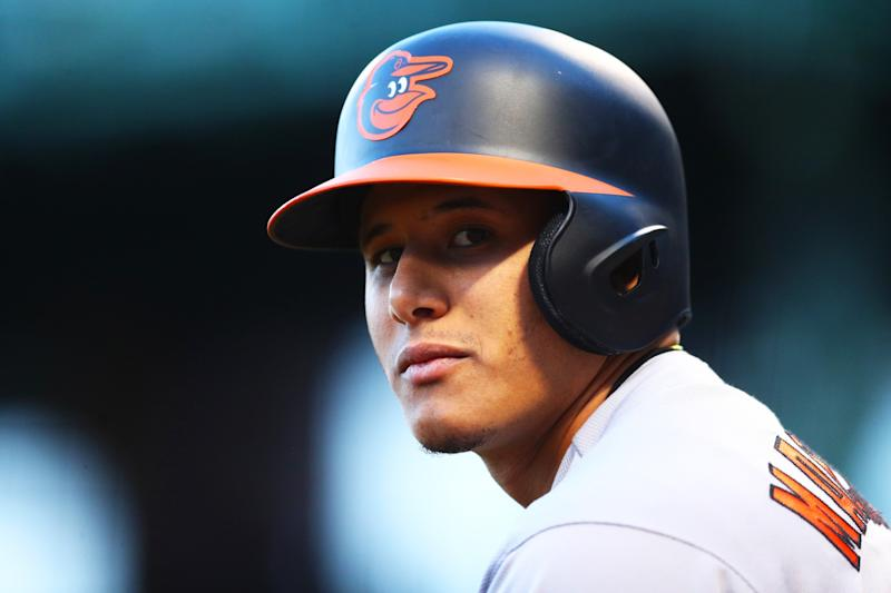Manny Machado's been in the middle of the Red Sox-Orioles beef the past two weeks. (Getty Images)