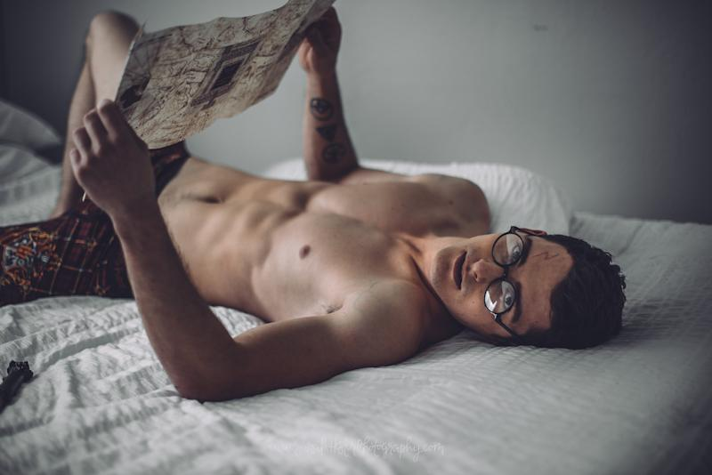 Thanks to photographer Sarah Hester, a 'Harry Potter' boudoir shoot has happened, and we couldn't feel more #blessed — see the sexy photos here!
