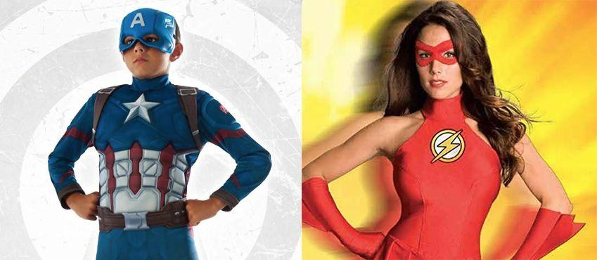 """<p>Halloween is the perfect time to pay tribute to our favorite superheroes. Maybe we won't ever attain the cool superpowers they have, but hey, when you have a powerful suit on (even if it is just a <a href=""""https://www.goodhousekeeping.com/holidays/halloween-ideas/g23653854/best-halloween-costumes-of-all-time/"""" target=""""_blank"""">Halloween costumes</a>), you feel like you can achieve anything<em>.</em> </p><p>Since superhero costumes are family-friendly, these costumes are perfect for everyone from <a href=""""https://www.goodhousekeeping.com/holidays/halloween-ideas/g385/popular-kids-halloween-costumes/"""" target=""""_blank"""">young children</a> to <a href=""""https://www.goodhousekeeping.com/holidays/halloween-ideas/g2625/halloween-costumes-for-couples/"""" target=""""_blank"""">married couples</a>  to your <a href=""""https://www.goodhousekeeping.com/holidays/halloween-ideas/g1422/group-halloween-costumes/"""" target=""""_blank"""">whole crew</a>.<em> </em>And don't even worry about getting in tip-top shape before <a href=""""https://www.goodhousekeeping.com/holidays/halloween-ideas"""" target=""""_blank"""">Halloween</a> because superheroes come in all shapes and sizes. (Even better, some of these costumes come with built-in muscles.)  </p><p><em>For more <a href=""""https://www.goodhousekeeping.com/holidays/halloween-ideas/"""" target=""""_blank"""">Halloween ideas</a>, be sure to check Good Housekeeping's <a href=""""https://www.goodhousekeeping.com/holidays/halloween-ideas/g3727/halloween-appetizer-recipes/"""" target=""""_blank"""">Halloween guide on recipes</a>, <a href=""""https://www.goodhousekeeping.com/holidays/halloween-ideas/g421/halloween-decorating-ideas/"""" target=""""_blank"""">party decorations</a>, <a href=""""https://www.goodhousekeeping.com/holidays/halloween-ideas/g23570139/halloween-movies-netflix/"""" target=""""_blank"""">movie recommendations</a> and more.</em></p>"""