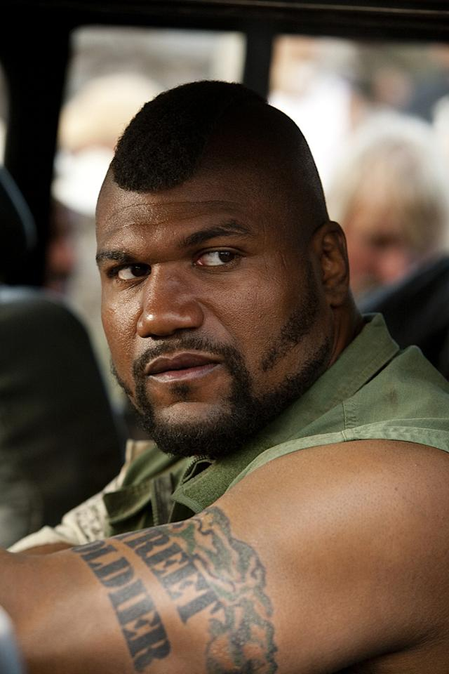 """NOW: <a href=""""http://movies.yahoo.com/movie/contributor/1809859793"""">QUINTON 'RAMPAGE' JACKSON</a>   Many big names (and big guys) were considered for the iconic role of B.A. Baracus, but it went to former UFC champ Quinton """"Rampage"""" Jackson. He had his first successes in mixed martial arts in Japan's Pride Fighting Championship. He made his UFC debut in 2007, and his MMA record stands at 30 wins and 8 losses, with 14 knockouts.   Jackson made his acting debut in 2005's """"Confessions of a Pit Fighter,"""" and appeared in the horror flick """"Midnight Meat Train"""" (which starred future teammate Bradley Cooper) in 2008. Appropriately, Jackson is known for wearing a large chain around his neck before fights, but unlike the other B.A., his is made of steel, not gold."""
