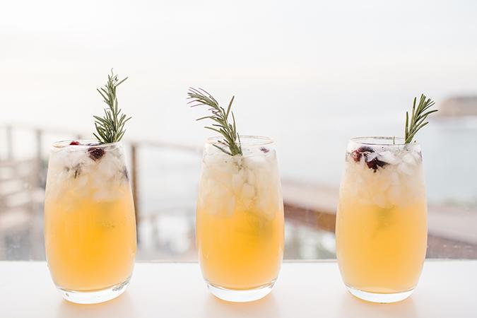 """Conrad is the queen of DIY, so it comes as no surprise that she has a tutorial on <a href=""""https://laurenconrad.com/blog/2017/12/lovely-libations-holiday-cocktails-diy-swizzle-sticks/"""" target=""""_blank"""">Christmas tree swizzle sticks</a>, which are the perfect pair for this refreshing holiday cocktail. The drink mixes pear juice, champagne and rosemary for a light, easy-to-drink sip.  <a href=""""https://laurenconrad.com/blog/2017/12/lovely-libations-holiday-cocktails-diy-swizzle-sticks/"""" target=""""_blank"""">Sparkling Pear Rosemary Cocktail Recipe</a>"""