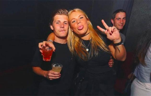 Pictured with her younger brother Jackson, Brooke reportedly loves the A-list life. Source: Instagram