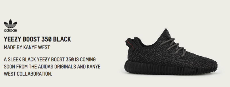 Here's adidas' Official List of Retailers Receiving the Black Yeezy Boost  350
