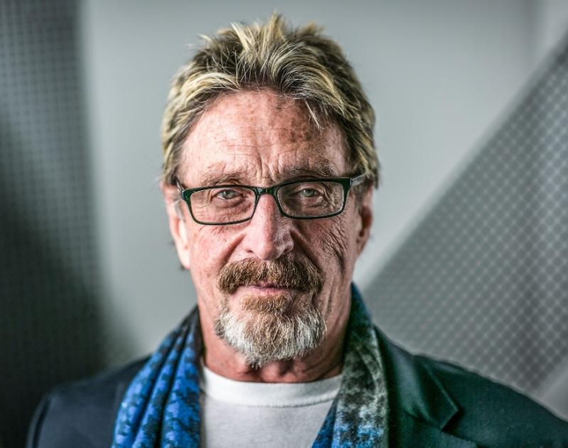 John McAfee goes dark again, claims CIA in pursuit