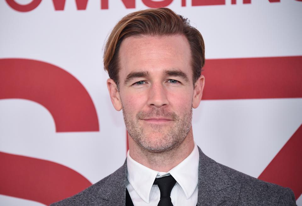 "James Van Der Beek is ""overflowing with profound gratitude"" as his family lands in Texas after making a big move."