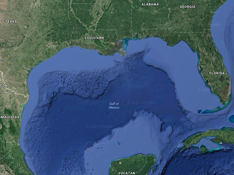 Massive Polluted Zone Discovered in Gulf of Mexico