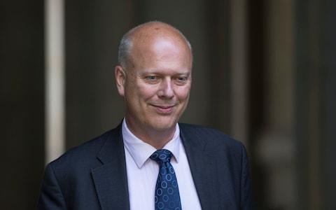 Chris Grayling - Credit: Heathcliff O'Malley for the Telegraph