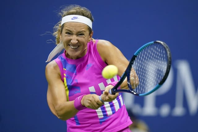 Victoria Azarenka's backhand was the key shot