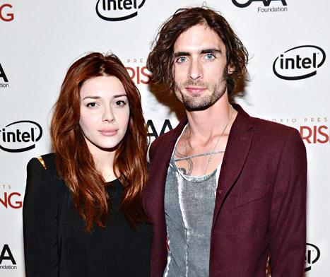 Tyson Ritter Engaged to Elle Satine: See the Huge Engagement Ring from the All-American Rejects Singer