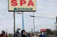 Deadly shootings at three spas in Georgia