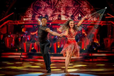 strictly come dancing - Credit: guy levy/bbc pictures