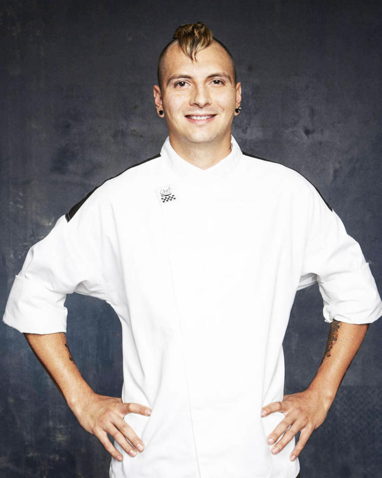 "HELL'S KITCHEN: Jon Scallion (York, PA) is a contestant on Season 11 of ""Hell's Kitchen."""