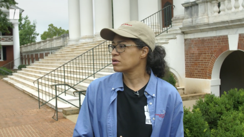 Jalane Schmidt, a University of Virginia professor and activist, takes HuffPost on a tour of Charlottesville. (HuffPost)