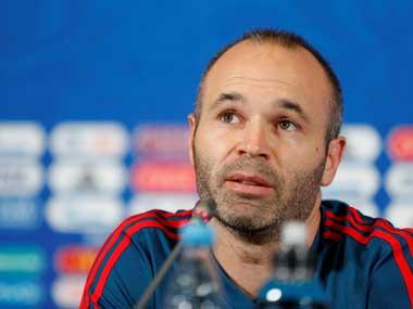 Barcelona legend Andres Iniesta apologises for posting photo featuring people in blackface on social media